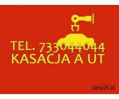 Leglana kasacja, złomowanie Aut, Możliwy Dojazd Śląsk/ Małopolska/ Opolskie
